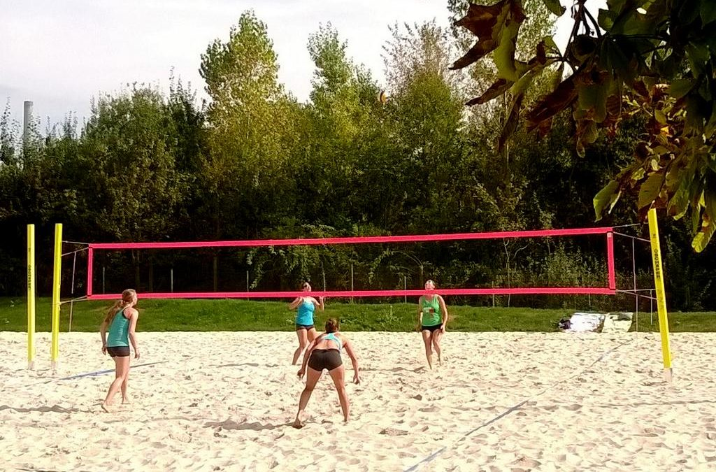 1. Beachvolleyball-Turnier für Hobby-Volleyballer